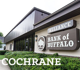 Alliance Bank Cochrane location